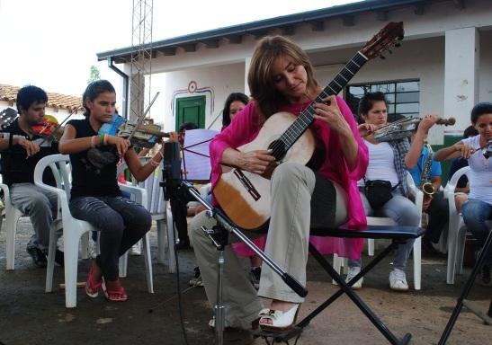 Berta Rojas. Bañado Sur