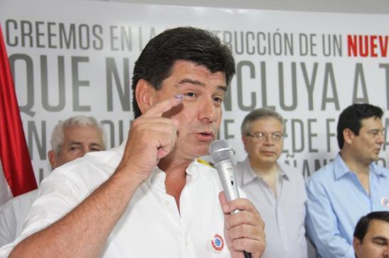 Efraín Alegre. Foto compartida en el perfil de FB