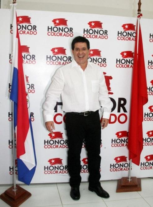Horacio Cartes. Foto FB