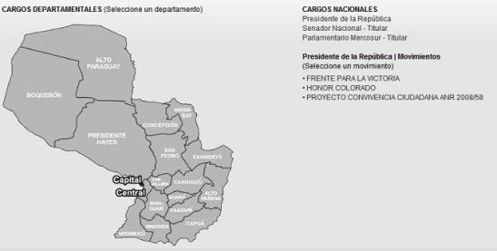 Infografía Candidatos Colorados