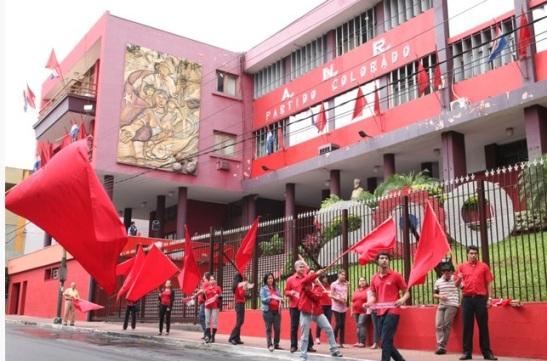 Partido Colorado. Foto Anr.org.py