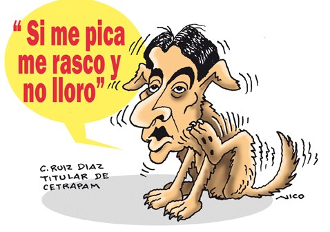 César Ruiz Díaz. Dibujo Nico