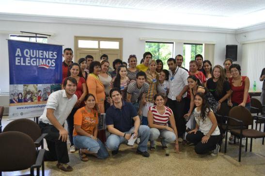 Jóvenes voluntarios. Proyecto A quiénes elegimos. CIRD