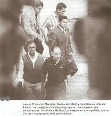 Lino Oviedo. Crisis de abril 1996