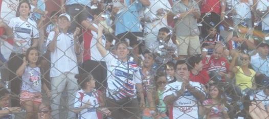 Hinchada de Nacional. Foto Nacionalquerido.com