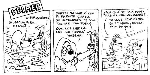 Delmer. Nico Espinosa