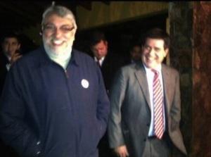 Fernando Lugo y Horacio Cartes