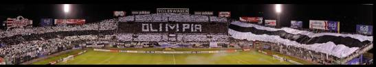 Olimpia. Estadio. 20 Medios