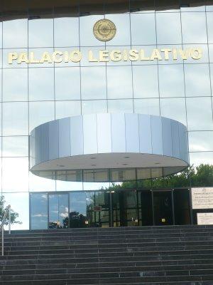 Palacio Legislativo de Paraguay.