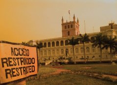 Palacio de Gobierno. Richard Ferreira Candia