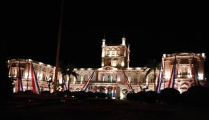 Palacio de Gobierno. Roberto Espínola T.