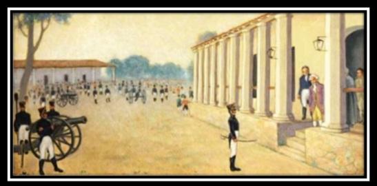 Cuadro. Independencia de Paraguay.